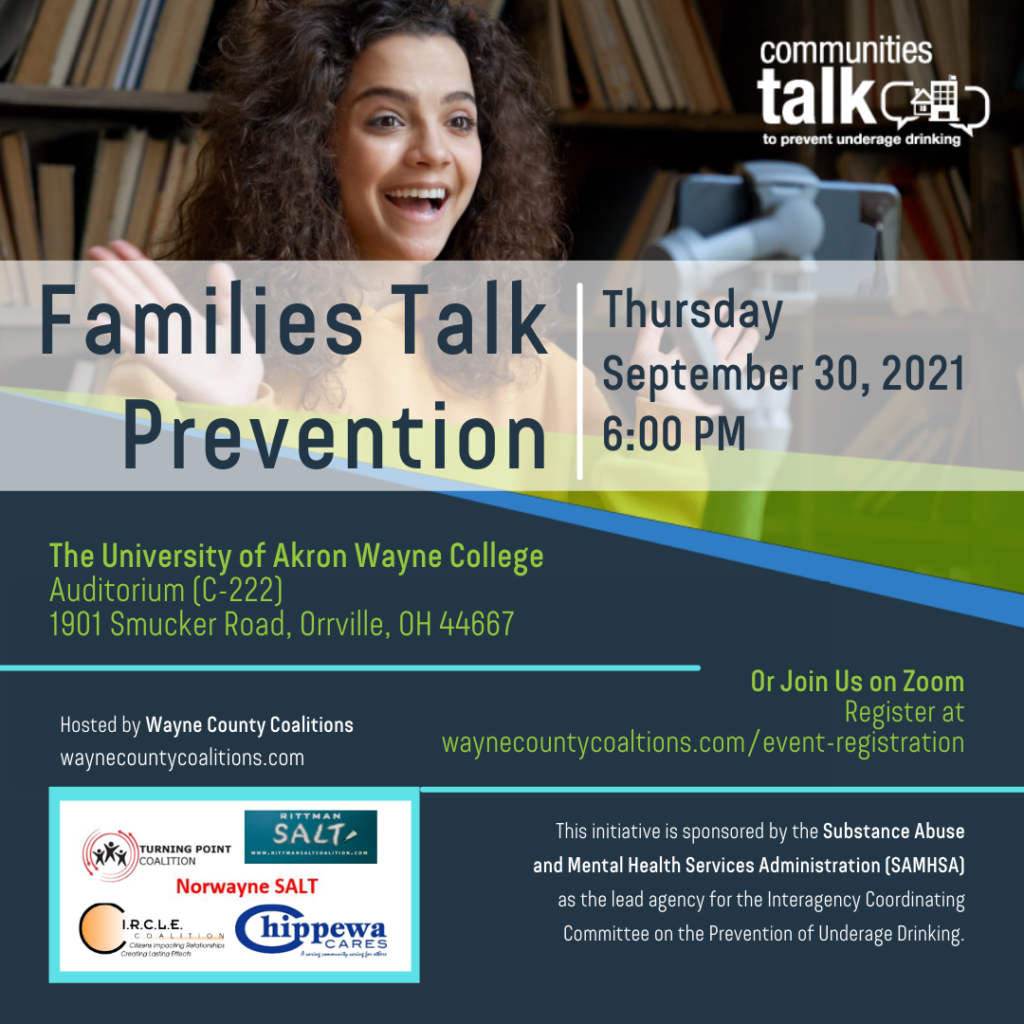 Families Talk Prevention Poster